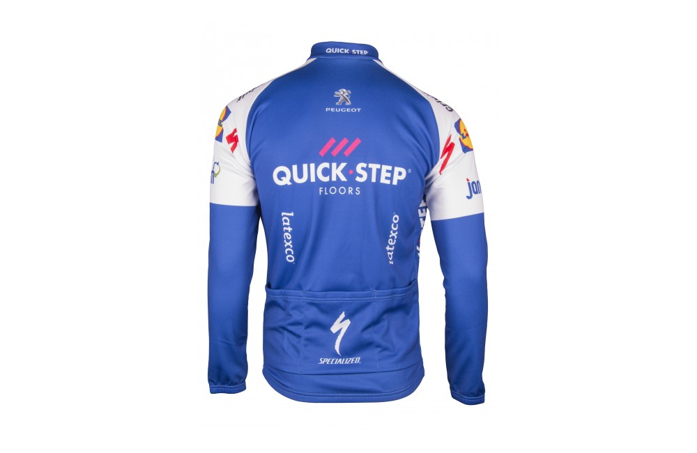 QUICK STEP FLOORS maillot manches longues 2017