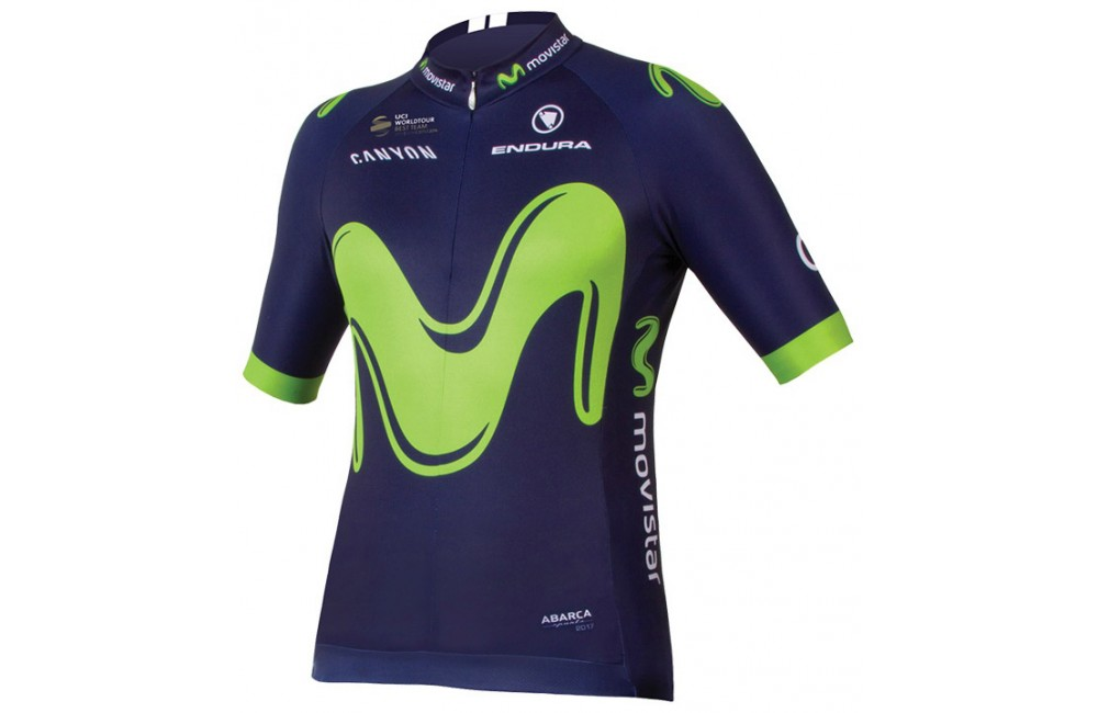 MOVISTAR maillot cycliste 2017