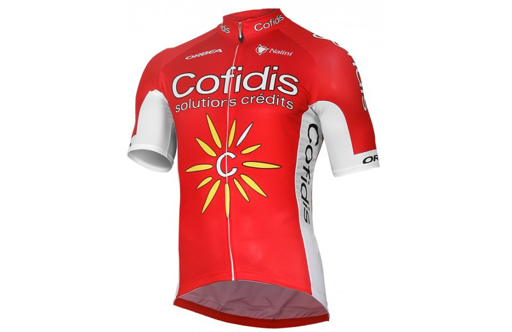 COFIDIS maillot manches courtes 2017