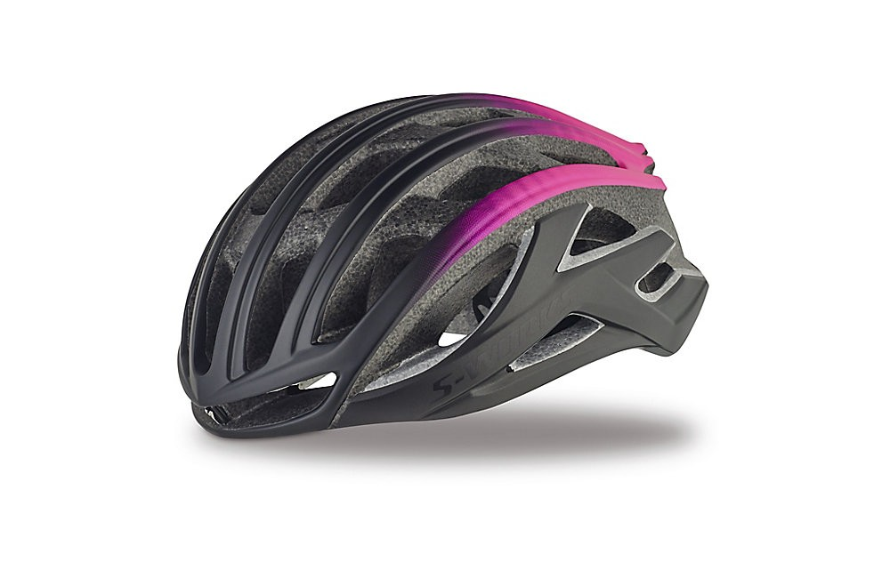 SPECIALIZED casque S-Works Prevail II noir mat rose 2018