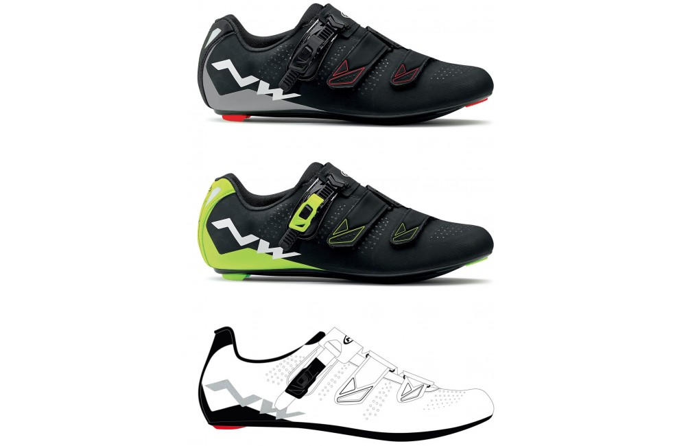 NORTHWAVE chaussures route homme Phantom 2 SRS 2018