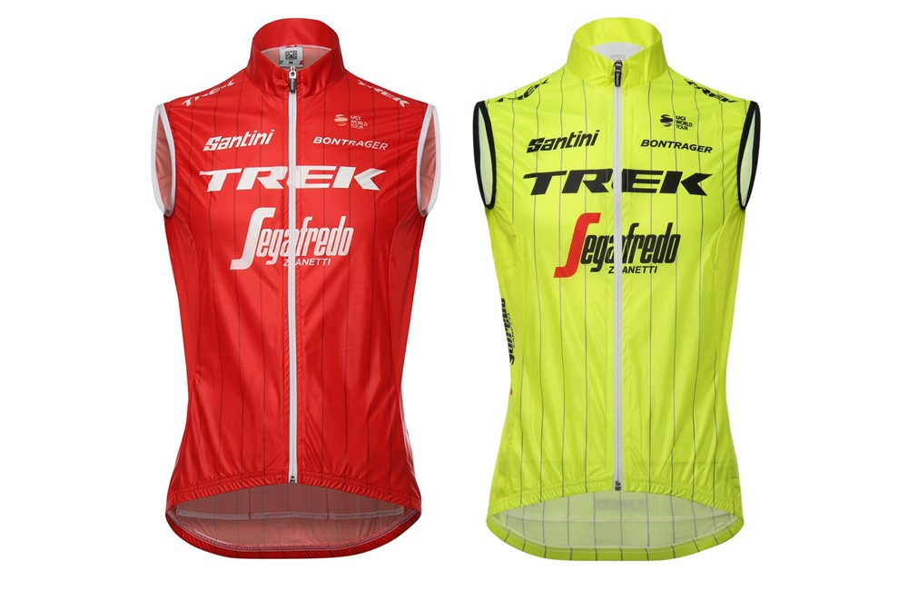 TREK SEGAFREDO gilet coupe-vent Team Windshell 2018