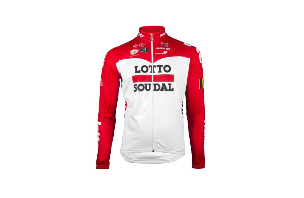 LOTTO SOUDAL maillot manches longues 2018
