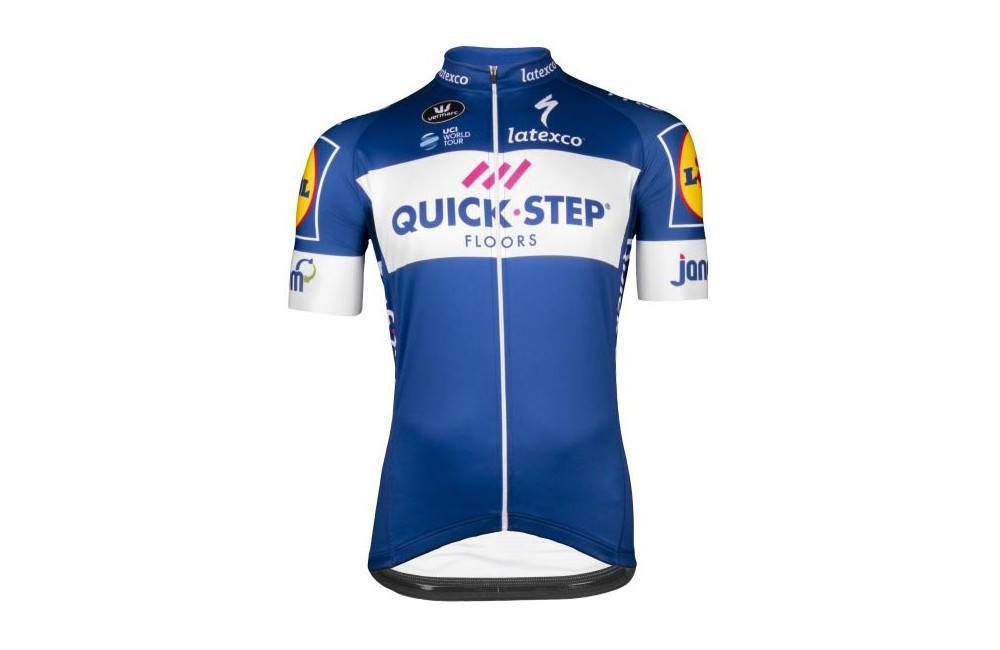 QUICK STEP FLOORS maillot cycliste Team Aero 2018