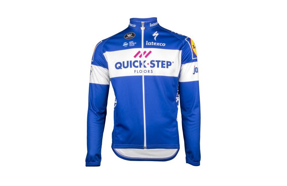 QUICK STEP FLOORS maillot manches longues 2018