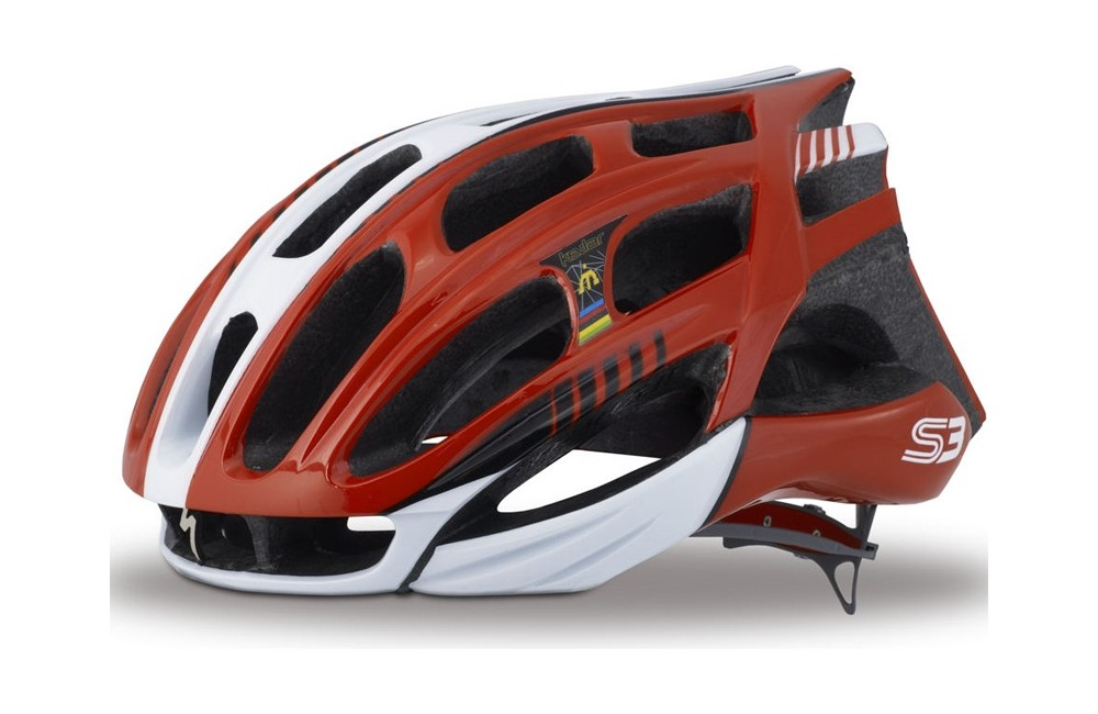 SPECIALIZED S3 casque rouge blanc 2014