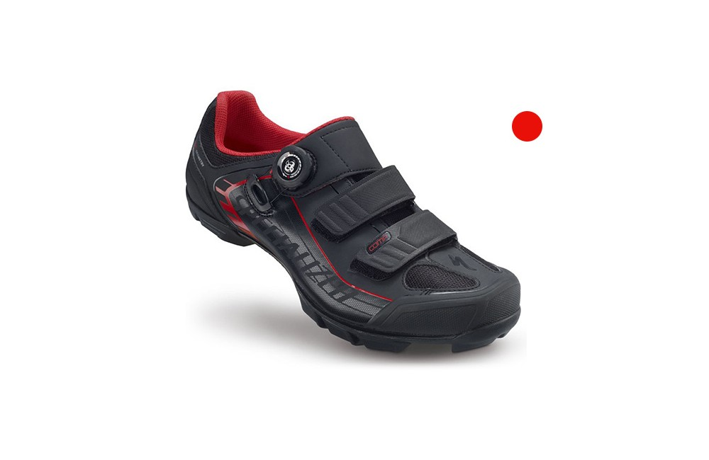 SPECIALIZED chaussures Comp MTB noir/rouge 2015