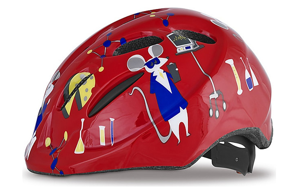 SPECIALIZED casque enfant Small Fry souris rouge 2015