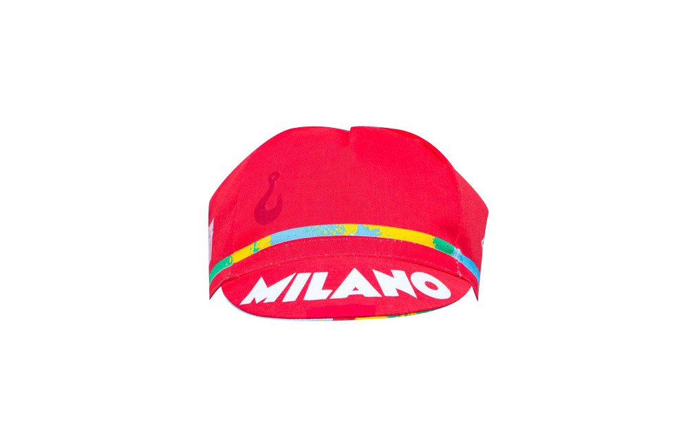 Casquette cycliste CINELLI Red Hook Crit Milano