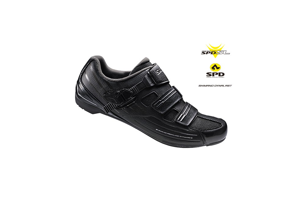 SHIMANO chaussures route RP3 Large Noir
