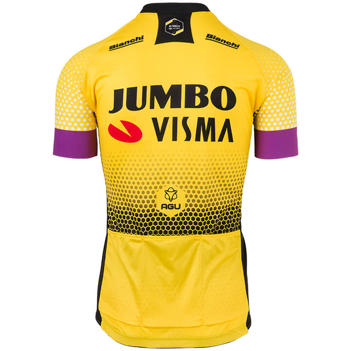 Maillot manches courtes TEAM JUMBO-VISMA 2019