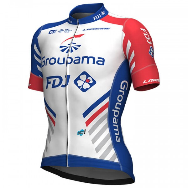 Maillot manches courtes GROUPAMA-FDJ PR 2019