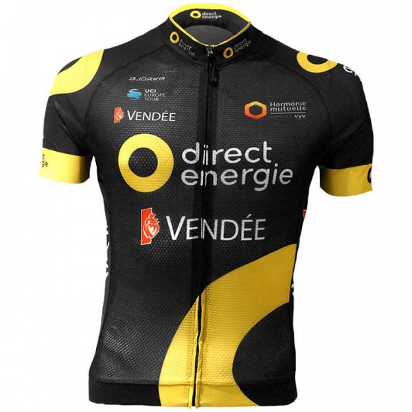 Maillot manches courtes DIRECT ENERGIE Team 2018