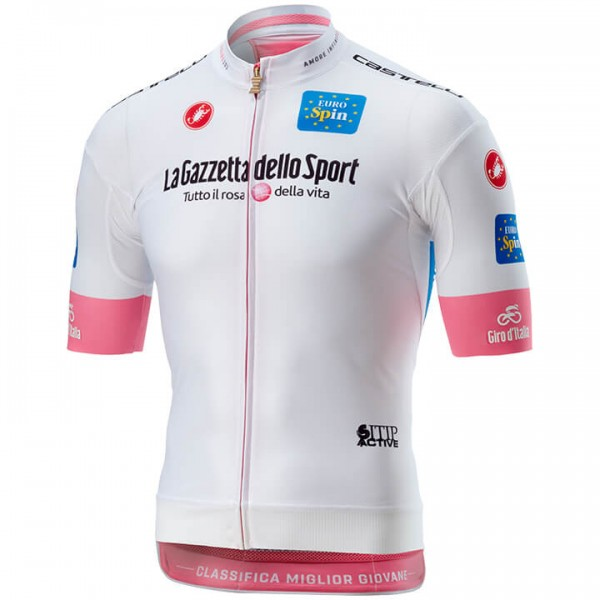 Maillot manches courtes GIRO D'ITALIA BIANCA Race 2018