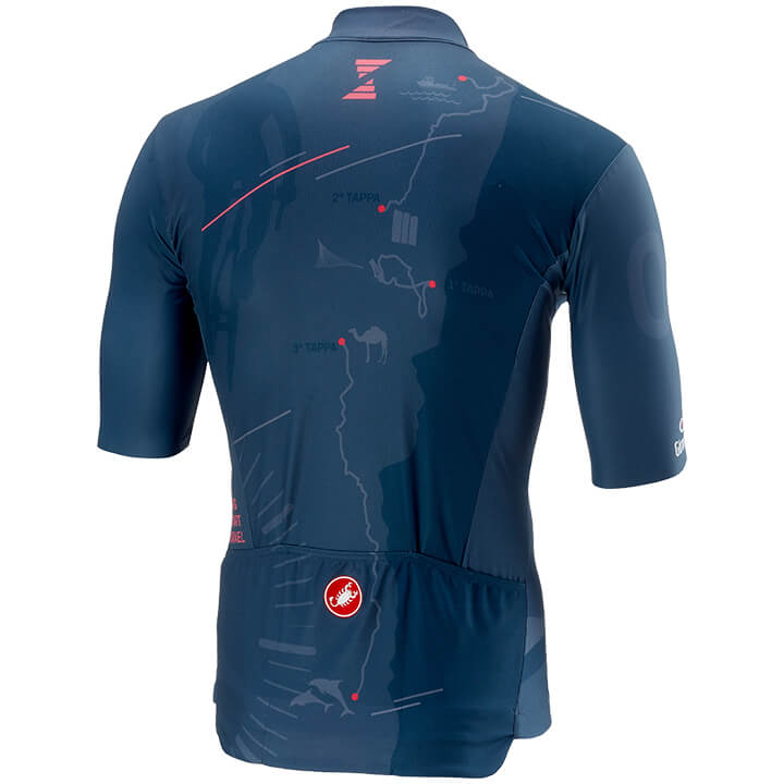Maillot manches courtes GIRO D\'ITALIA ISRAEL 2018