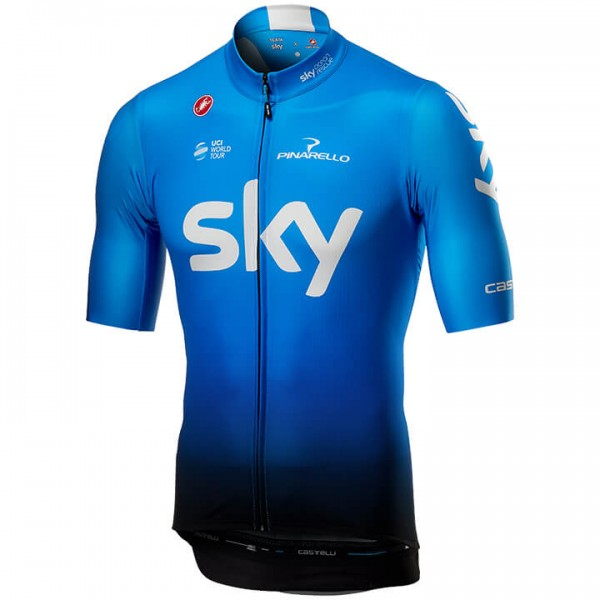 Maillot manches courtes Squadra Team Sky Training 2019