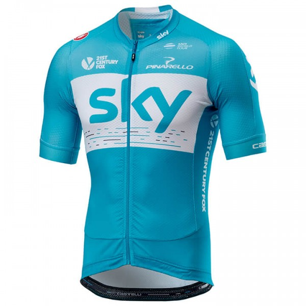Maillot manches courtes Team Sky Aero Training 2018