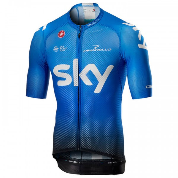 Maillot manches courtes Team Sky Climber's Training 2019