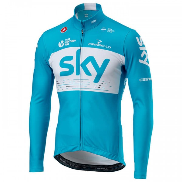 Maillot manches longues Team Sky 2018