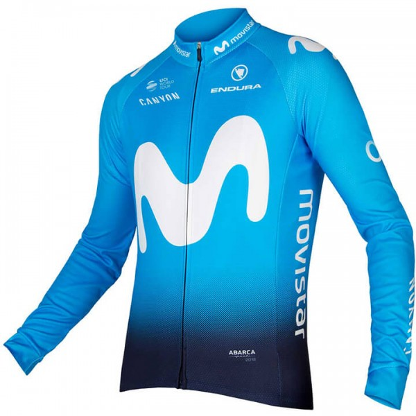 Maillot manches longues MOVISTAR Team 2018