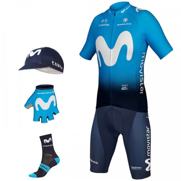 Maxi-Set (5 pièces) MOVISTAR TEAM 2019