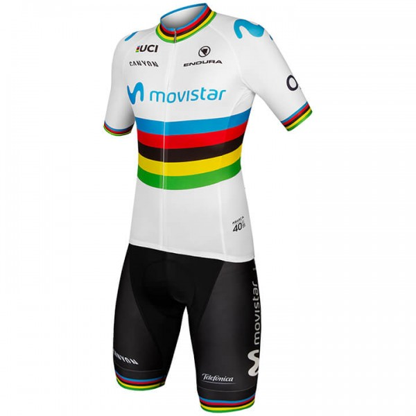 Set (2 pièces) MOVISTAR TEAM Champion du monde 2019