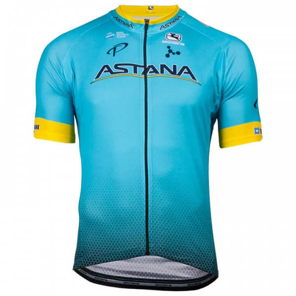 Maillot manches courtes ASTANA PRO TEAM 2018