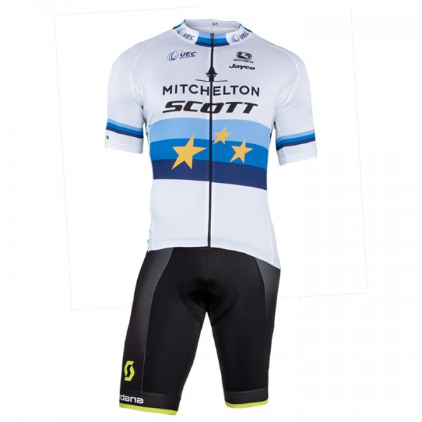 Set (2 pièces) MITCHELTON - SCOTT Champion d'Europe 2018