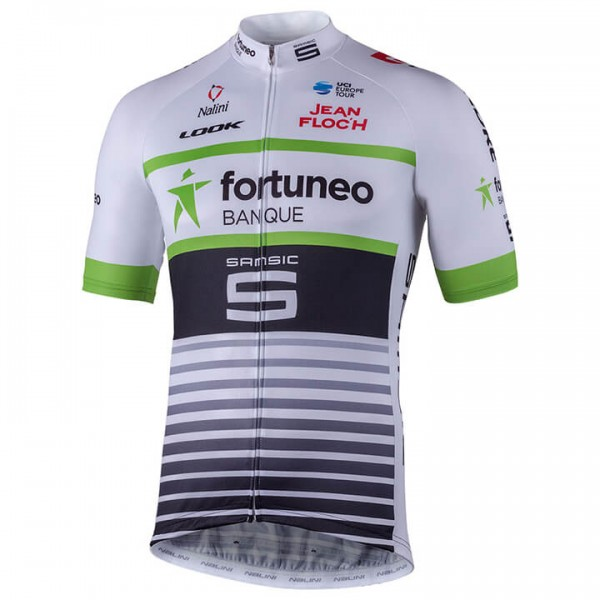 Maillot manches courtes TEAM FORTUNEO-SAMSIC 2018