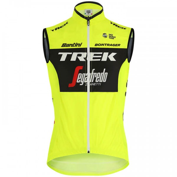 Gilet coupe-vent Trek-Segafredo Training 2019