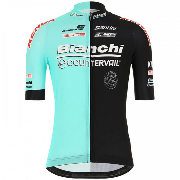 Maillot manches courtes BIANCHI COUNTERVAIL 2019
