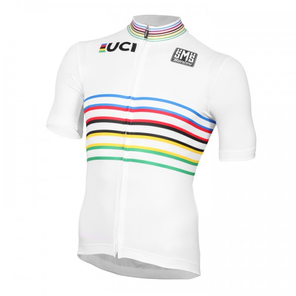 Maillot manches courtes UCI WORLD CHAMPION MASTER 2018