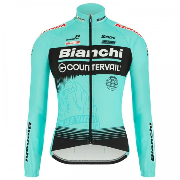 Maillot manches longues BIANCHI COUNTERVAIL 2018