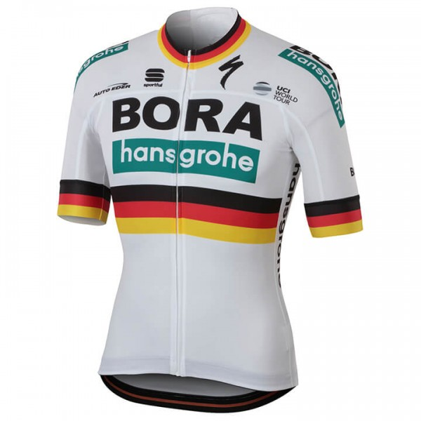 Maillot manches courtes BORA- hansgrohe Champion allemand 2018