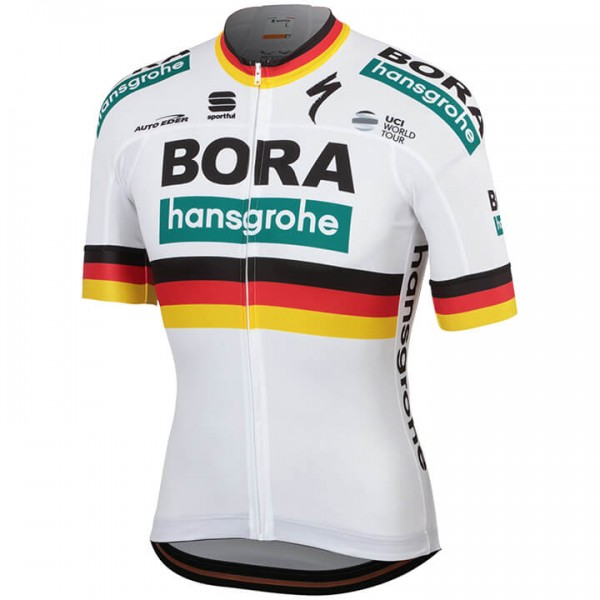 Maillot manches courtes BORA-hansgrohe Champion allemand 2019
