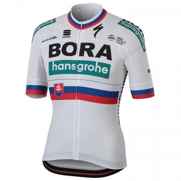Maillot manches courtes BORA- hansgrohe Champion slovaque 2018
