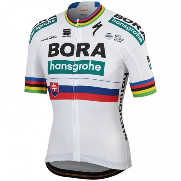Maillot manches courtes BORA-hansgrohe Champion slovaque 2019