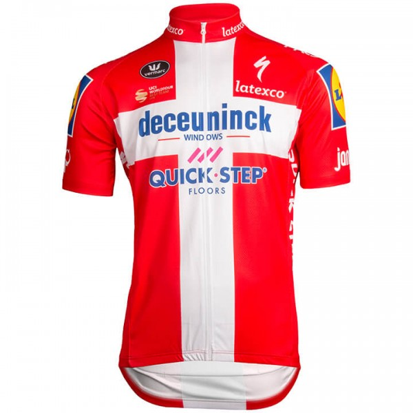 DECEUNINCK-QUICK STEP Champion danois 2019 Maillot manches courtes
