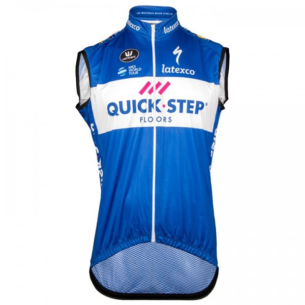 Gilet coupe-vent QUICK-STEP FLOORS 2018
