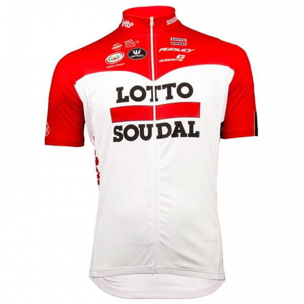 Maillot manches courtes Lotto Soudal 2018