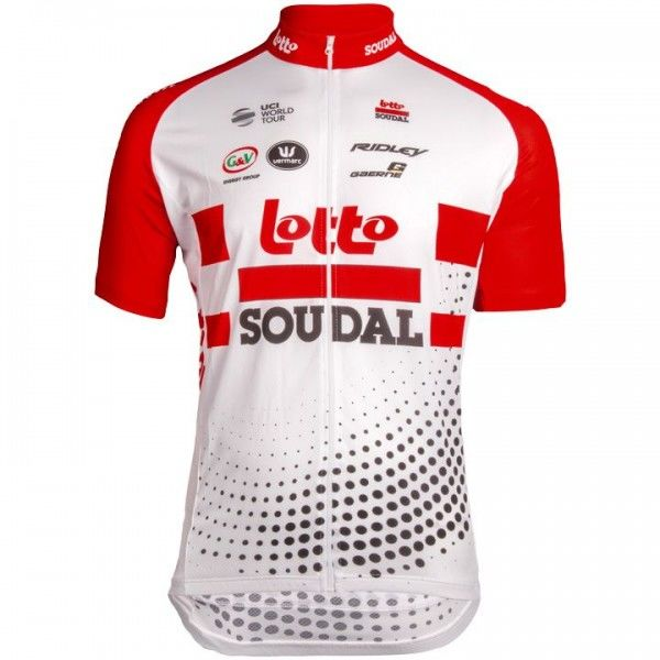Maillot manches courtes Lotto Soudal 2019