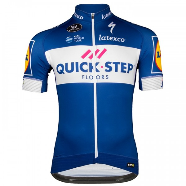 Maillot manches courtes QUICK- STEP FLOORS PRR 2018