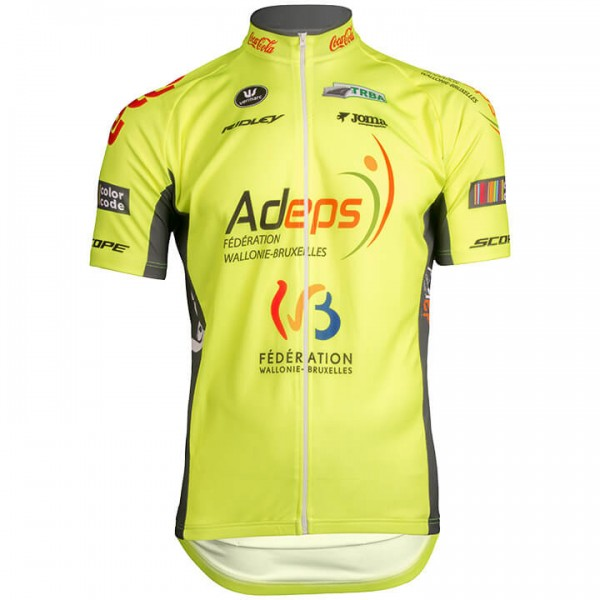Maillot manches courtes WALLONIE-BRUXELLES 2019