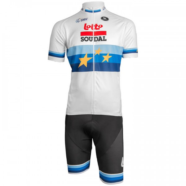 Set (2 pièces) LOTTO SOUDAL Champion d'Europe 2019